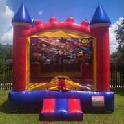Toy Story Castle Bounce House Rental
