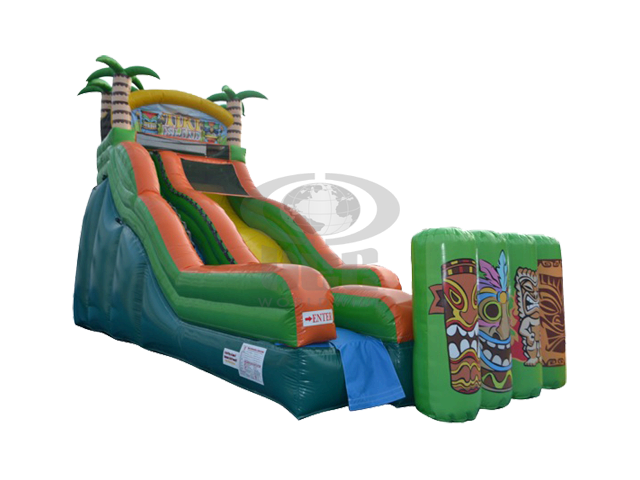 19 ft Tiki Water Slide