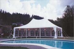 20x30 White Gothic Elite Party Tent