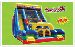 Vertical Rush 22' Obstacle/Slide