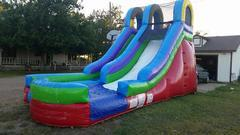 15ft. Retro Water Slide