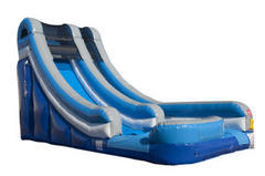 18 ft blue slide - dry