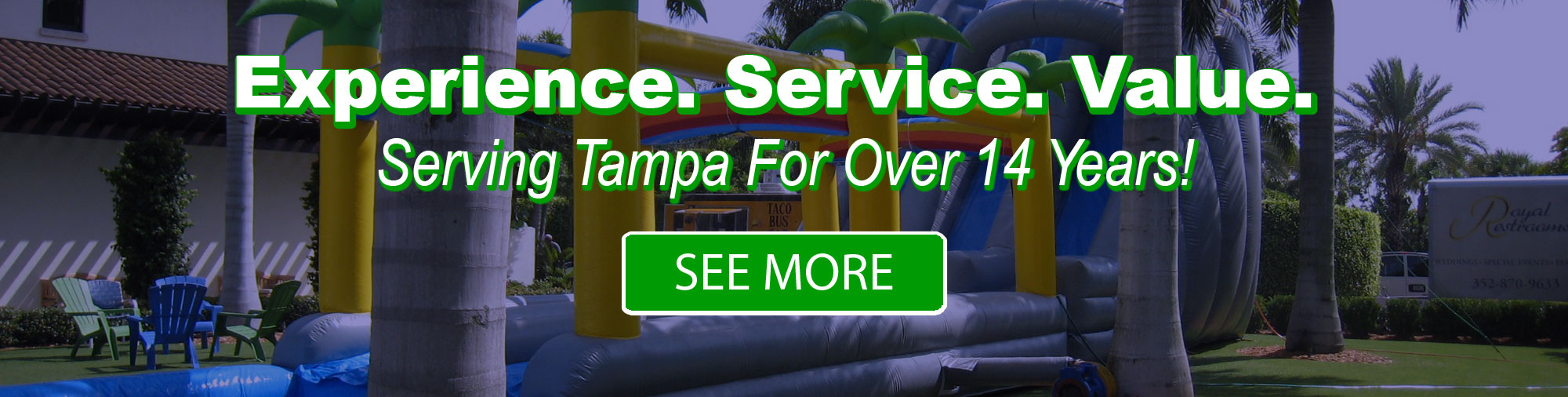 15 Years Serving Tampa