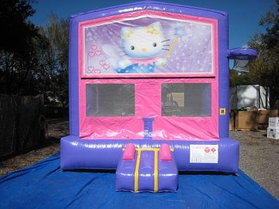 Hello Kitty 2 In 1 Pink And Purple 13ft X 13ft Bounce