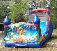 18ft Scooby Doo WET Slide  - UNIT #528