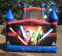 18ft Star Wars Legos WET Slide - UNIT #528