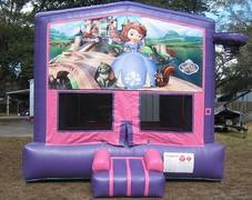 Sofia The First Pink and Purple Bounce w/Hoops UNIT #103
