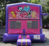 My Little Pony Pink and Purple Bounce w/Hoops UNIT #103
