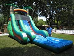 18ft Palm Tree Water Slide - UNIT #527