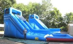 18ft Blue Lagoon Water Slide *BIG POOL* - UNIT #505+601