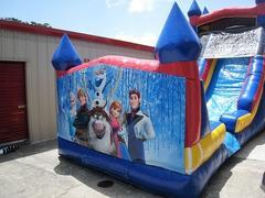 18ft Frozen WET Slide - UNIT #528