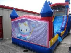 18ft Hello Kitty WET Slide - UNIT #528