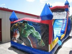 18ft Hulk WET Slide - UNIT #528