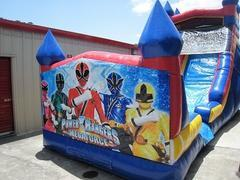 18ft Power Rangers WET Slide - UNIT #528