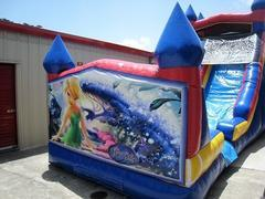 18ft Tinkerbell WET Slide - UNIT #528