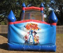 18ft Lazy Town WET Slide - UNIT  #528