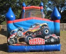 18ft Monster Truck WET Slide - UNIT #528