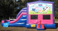 Peppa Pig 4 in 1 Pink and Purple Two Lane WET Combo - UNIT #216