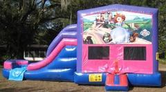 Sofia The First 4 in 1 Pink and Purple Two Lane WET Combo - UNIT #216