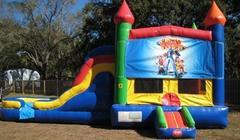 Lazy Town Multi Colored  5 in 1 Castle WET Combo - UNIT #220