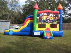 Minions Multi Colored 5 in 1 Castle WET Combo - UNIT #220