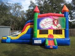 Strawberry Shortcake Multi Colored  5 in 1 Castle WET Combo - UNIT #220