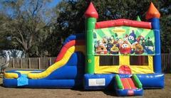 Veggie Tales Multi Colored  5 in 1 Castle WET Combo - UNIT #220