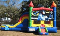 Batman Multi Colored  5 in 1 Castle WET Combo - UNIT #220