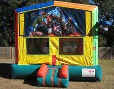 Avengers 2 in 1 Multi-Colored Bounce w/Hoops - UNIT #112
