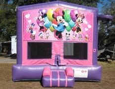 Minnie Mouse Pink and Purple Bounce w/Hoops UNIT #103