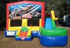 Monster Truck Multi colored 6 in 1 Ultimate WET Combo - UNIT #217