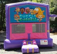 Bubble Guppies Pink and Purple Bounce w/Hoops UNIT #103