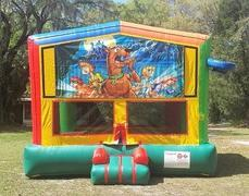 Scooby Doo 2 in 1 Multi-Colored Bounce w/Hoops - UNIT #112