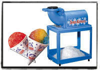 Sno Cone Machine w/50 servings