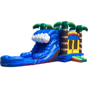 Tropical Wave Water Slide Combo