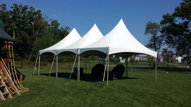 20' x 60' High Peak Tent (Seats 150)
