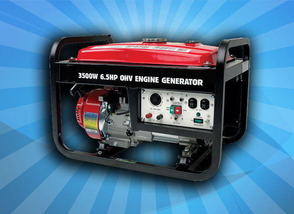 3500 WATT Generator with Full & Free Tank of Gas