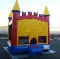 2in1 Classic Castle Bounce House (15'x15')