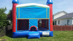 6n1 Combo Bounce House (Inside Slide)