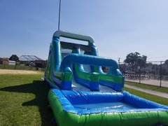 16ft Dual Lane Dry/Water Slide