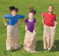 Potato Sack Race (set of 4)