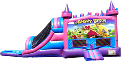 Angry Birds Pink and Purple Castle Combo Wet