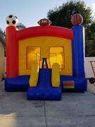 2 in 1 Sports Bounce House Rental