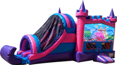 Princess-Pink and Purple Castle Combo Dry