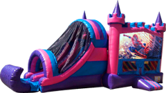 Spiderman Pink and Purple Castle Combo Dry