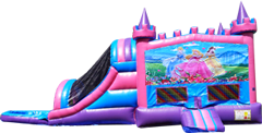 Princess Pink and Purple Castle Combo Wet