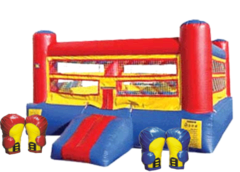 Boxing Ring Bounce House 15x15 LARGE