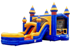 Arctic Dual Lane Combo Waterslide - 13x31