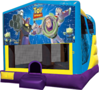 Buzz Lightyear Large C4 Dry Combo with Slide & Basketball Hoop