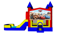 Disney Cars Combo 4 in 1 Bouncer